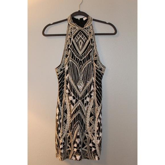 Parker Dresses & Skirts - Parker Gatsby High Neck Cocktail Dress